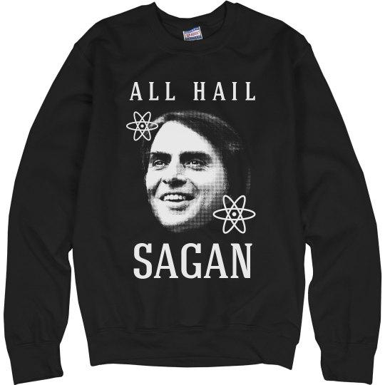 All Hail Carl Sagan & Science