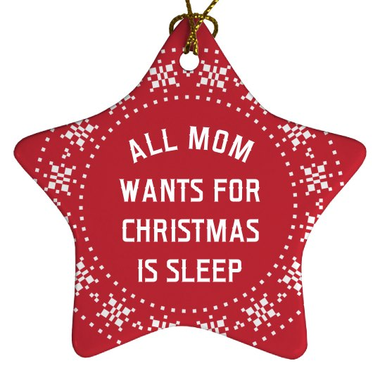 All Mom Wants Is Sleep