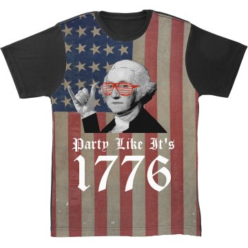 All Over Print 1776 America Party