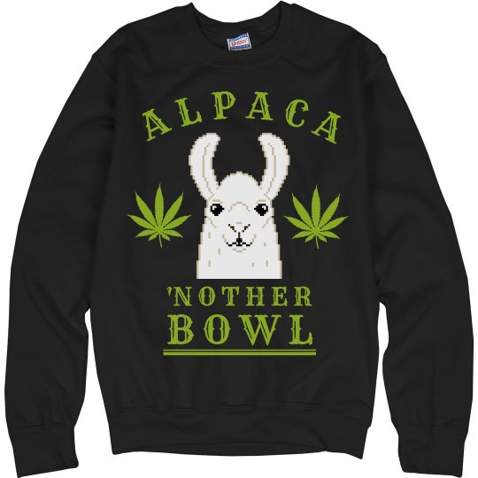 Alpaca'nother Bowl Llama Green