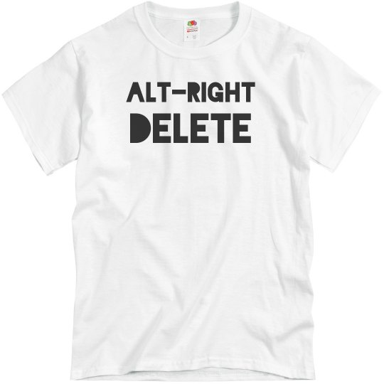 Alt-Right Delete Anti Racist