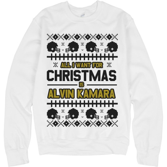 Alvin Kamara Ugly Christmas Sweater