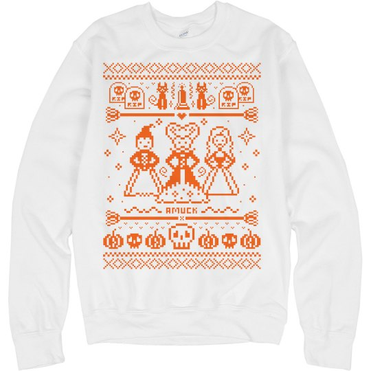 Amuck Ugly Halloween Sweater