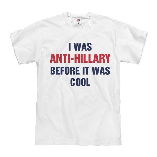 Anti-Hillary A While Ago