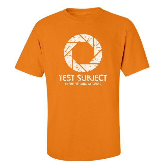 Aperture Test Subject