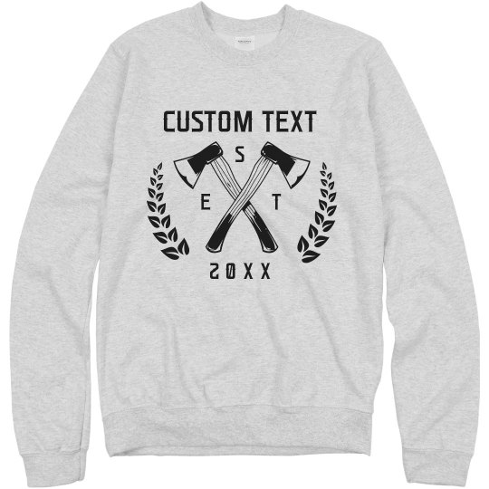 Axe Throwing Custom Sweatshirt