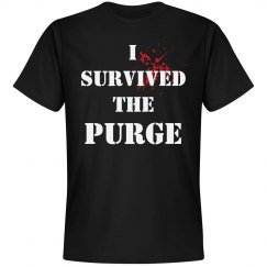 I Survived The Purge Halloween Tee