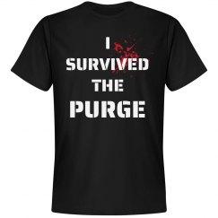I Survived The Purge Halloween Tee
