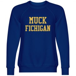 Muck Fichigan Yellow And Blue