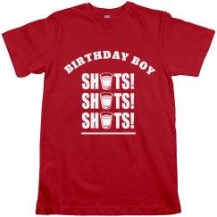 Birthday Boy Shots