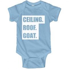 Ceiling Roof Goat Baby Bodysuit