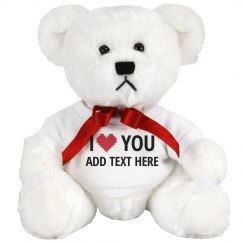 Custom Name Heart Loves You