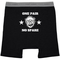 One Pair Bernie Underwear