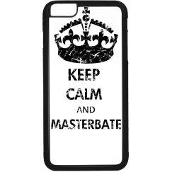 KEEP CALM AND MASTERBATE