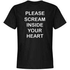 Please Scream Inside Your Heart 2020 Tee