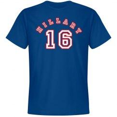 Hillary 16 Jersey