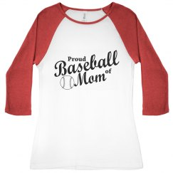 Proud of Baseball Mom