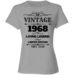 Vintage 1968 living legend very rare