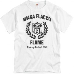 Waka Flacco Fantasy Football Tee