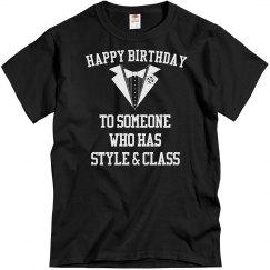 Style & class birthday