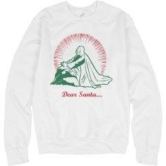 Jesus Looks to Santa