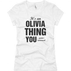 It's an Olivia Thing