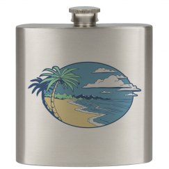 The Beach Flask