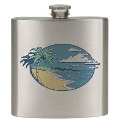The Beach Flask