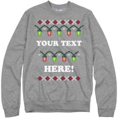 Custom Stranger Ugly Sweater