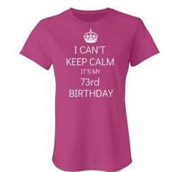 73rd birthday