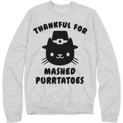 Thankful Thanksgiving Cat