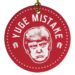 Yuge Mistake Christmas Trump