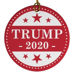 Donald Trump 2020 Gift Ornament