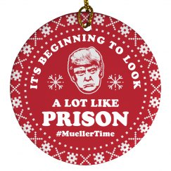 Anti-Trump Ornament Mueller Time