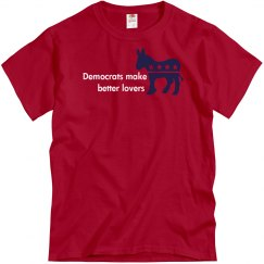 Democrats Better Lovers