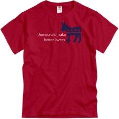 Democrats Better Lovers