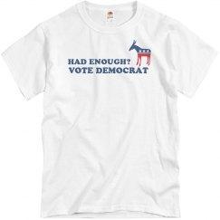 Had Enough Vote