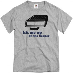 Hit Me Up On The Beeper
