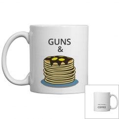 GUNS & PANCAKES and COFFEE