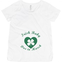 Irish Baby Due In March