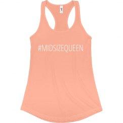 #MIDSIZEQUEEN Peachy Tank
