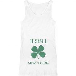Irish Mom To Be St Patricks Maternity Top
