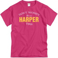 It's a Harper thing