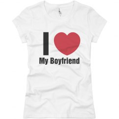 Love Boyfriend T-Shirt