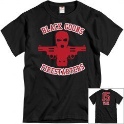 BLACK GOONS RED