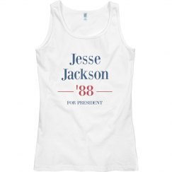 Jesse Jackson '88 Womens Tank