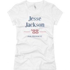 Jesse Jackson '88 Womens Tee