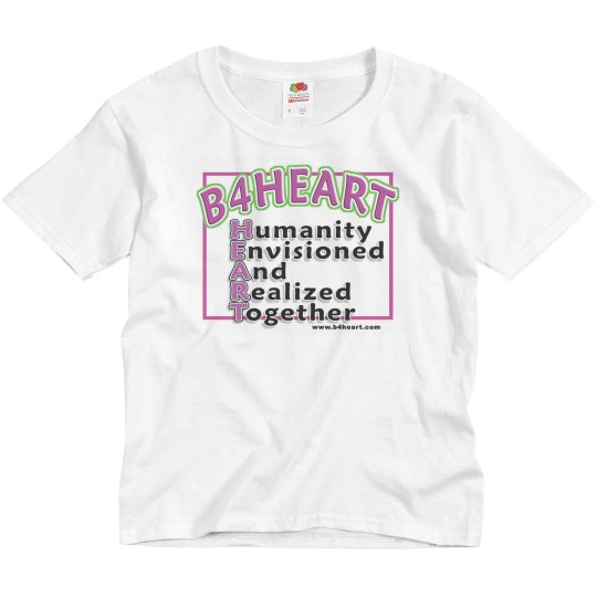 B4HEART t-shirt / youth