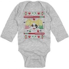 Harley Christmas Sweater Onesie