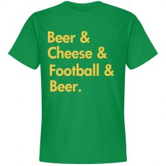 Beer Cheese Football